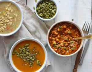 Celebrate Health - Pumpkin & Sweet Potato Soup Internal News Feature