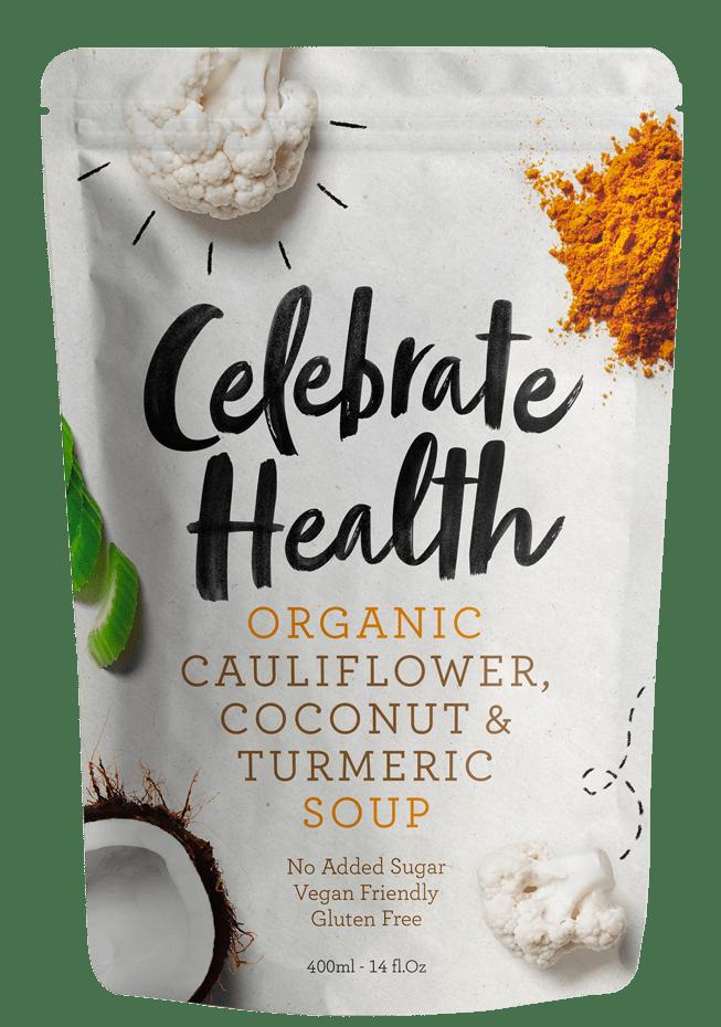 Celebrate Health Cauliflower, Coconut & Turmeric Soup Image
