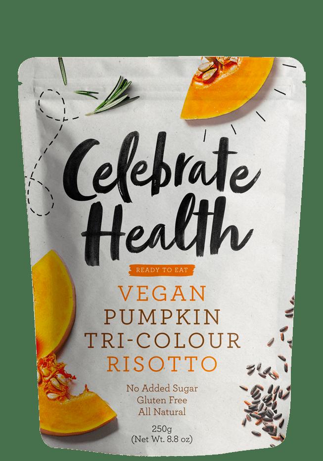 Celebrate Health Pumpkin Tri-Colour Risotto Image