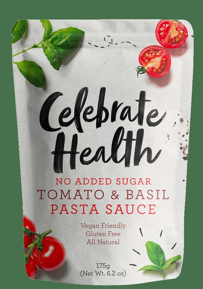 Celebrate Health Tomato & Basil Pasta Sauce Image