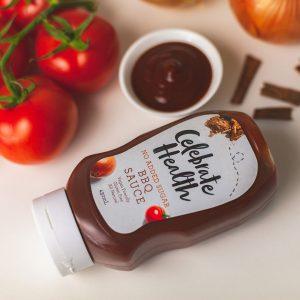 Celebrate Health BBQ Sauce with no-added-sugar