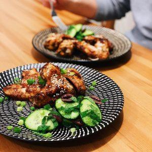 BBQ recipes: bbq chicken wings
