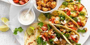 Spiced Cauliflower Taco Recipes