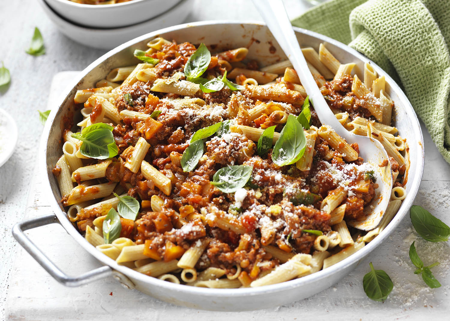 Penne bolognese by Celebrate Health