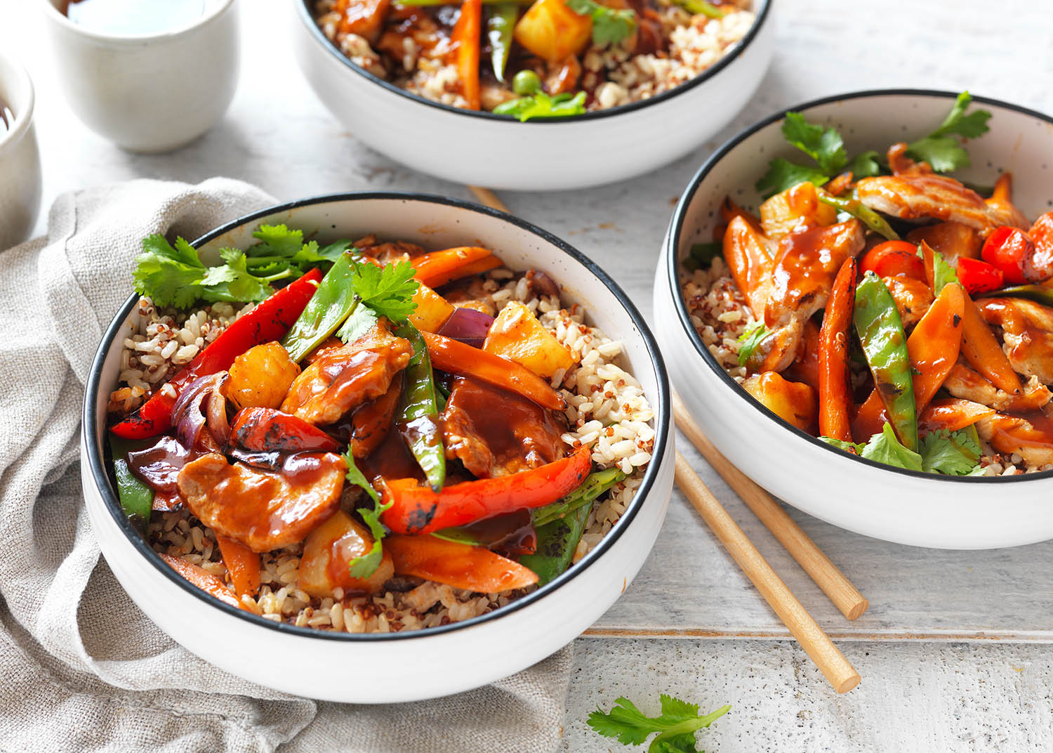 Sweet and sour pork by celebrate health