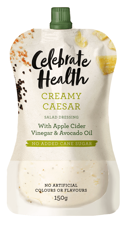 Celebrate Health Creamy Caesar Salad Dressing Image