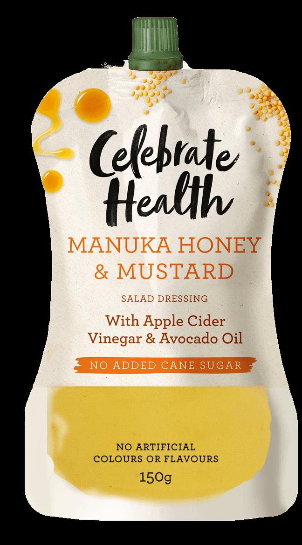 Celebrate Health Manuka Honey & Mustard Salad Dressing Image