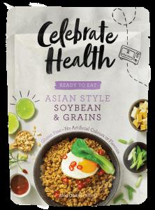 Celebrate Health Ready-to-Eat Range: Asian Style Soybean & Grains